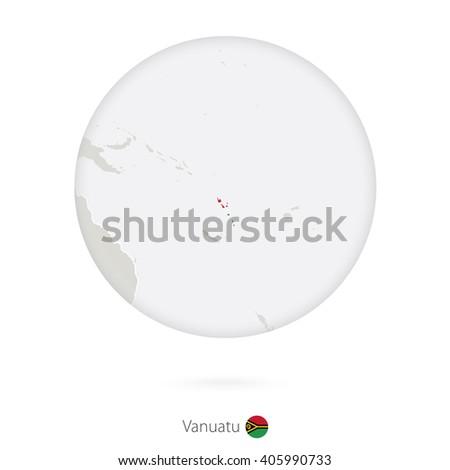 map of vanuatu and national