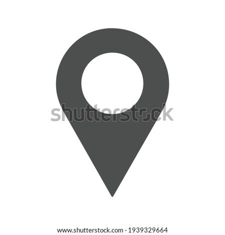 Map Pin icon. Pin Vector Stockfoto ©