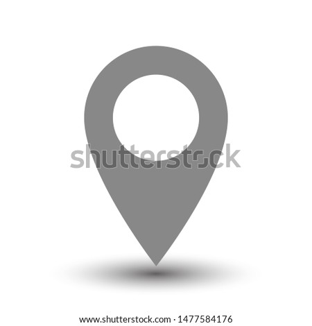 Map pins sign location icon