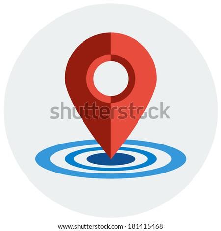 Map pointer flat