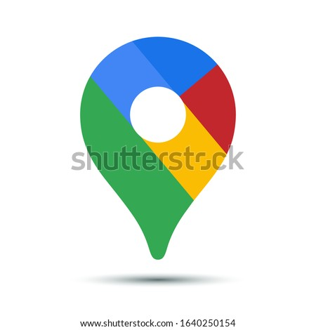 Map pointer icon. GPS location symbol.Vector illustration.