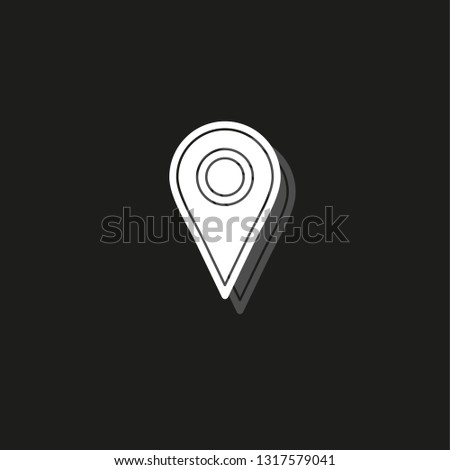 Map Pointer Compass Icon - Download Free Vector Art, Stock Graphics