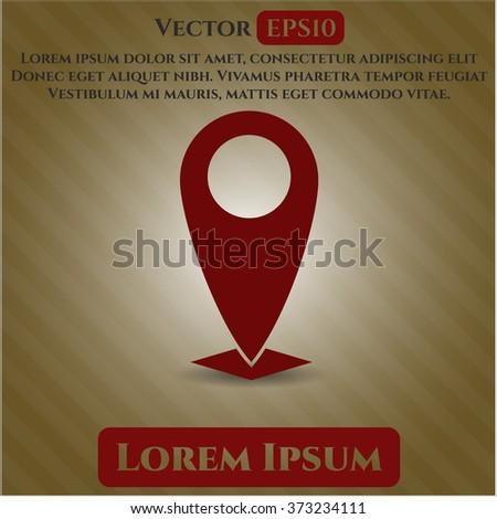 Map Pointer symbol