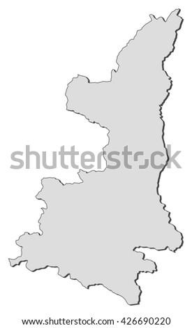 Map - Shaanxi (China)