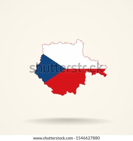 map south bohemian region