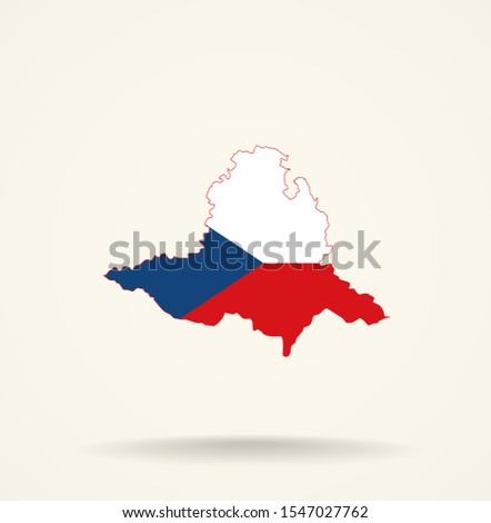 map south moravian region