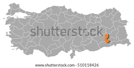 map   turkey  batman