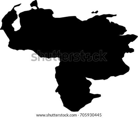 Venezuela map vector download free vector art stock graphics images map venezuela gumiabroncs Images