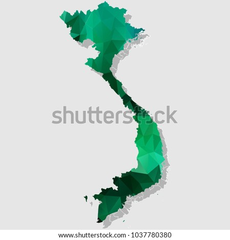 map vietnam map each city