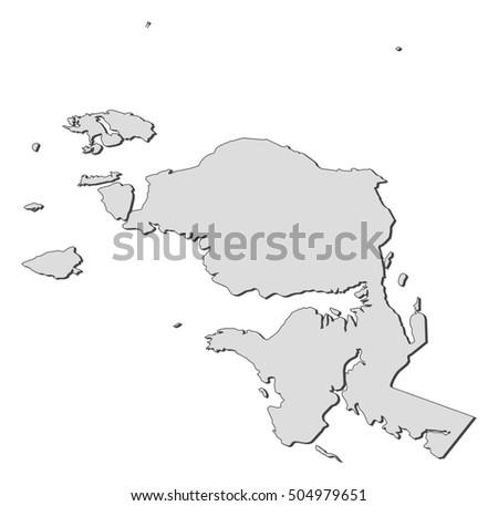 Royalty-free Gujarat blank detailed outline map set … #216876952 ...