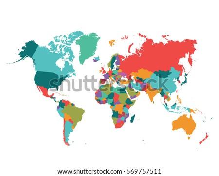 map  world #569757511