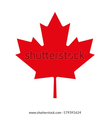 maple leaf icon canadian