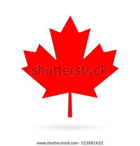 maple leaf vector icon maple