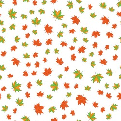 maple leafs seamless background. White background