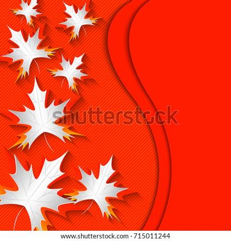 maple leaves on original