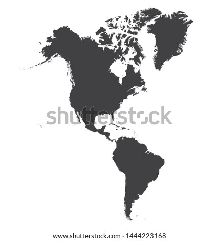 Maps of the Americas that is correct