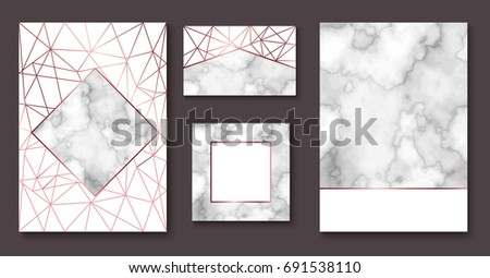 marble brochure layout