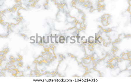 Marble gold texture seamless background.  Abstract golden glitter marbling seamless pattern for fabric, tile, interior design or gift wrapping . Realistic business or wedding cover card. Vector eps 8