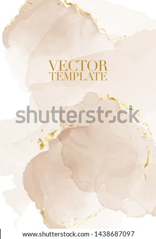 Marble rustic beige card wedding invitation card template design, pink tender decoration isolated on white  background, vintage wedding style decoration 2019