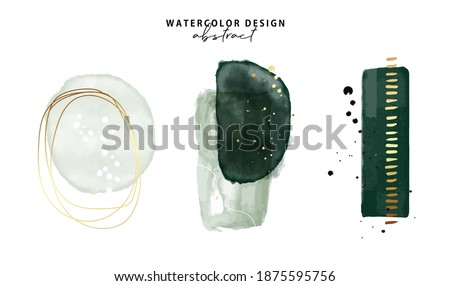 Marble watercolor emerald green parint, Emerald Minimalist  background. Gold foil texture art. Resins artwork 2021. Graphic painting frame  Vector