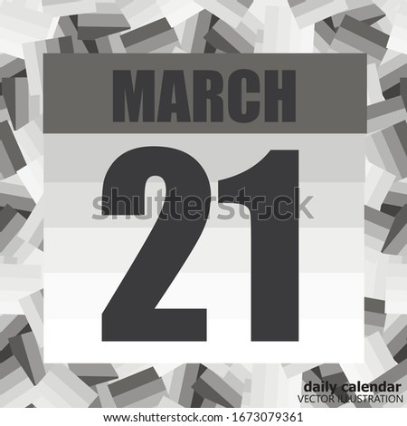 march 21 icon for planning