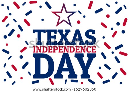 march 2 is texas independence