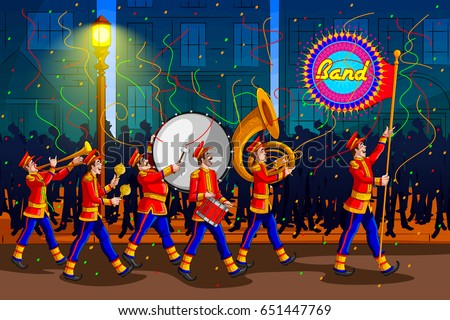 marching music brass band for