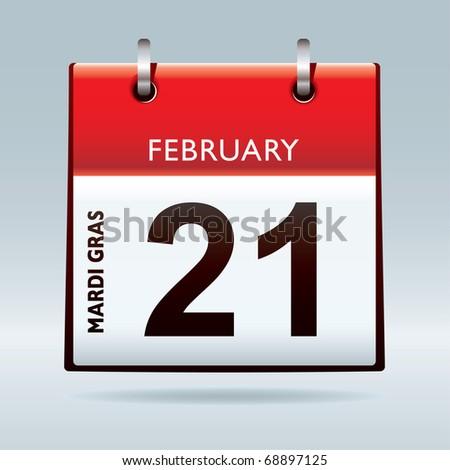 calendar date icon. Gras Calendar 2012 icon
