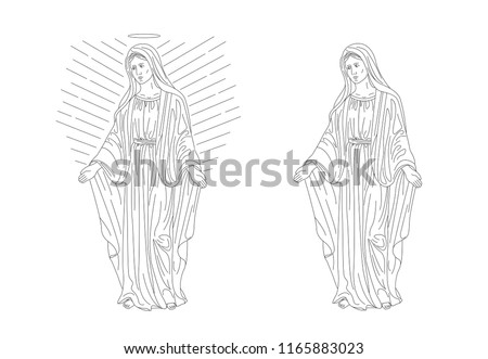 maria magdalena or woman from