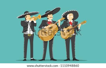 Mariachi Music Instrument Vectors - Download Free Vector Art, Stock