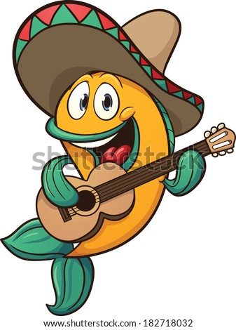 mariachi fish singing with