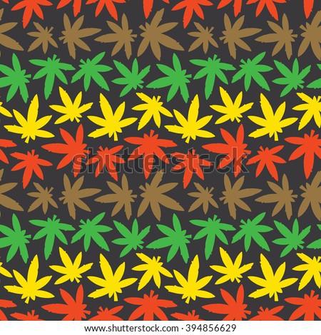 marihuana ganja weed seamless