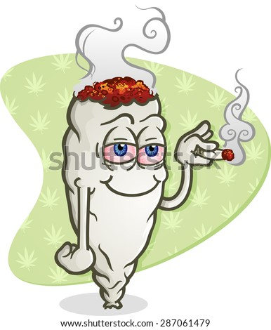 marijuana cartoon character