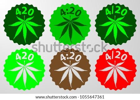 marijuana leaf   420  4 20  4
