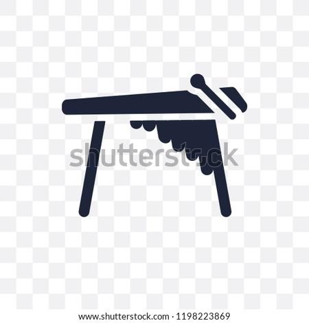 Marimba transparent icon. Marimba symbol design from Music collection. Simple element vector illustration on transparent background.