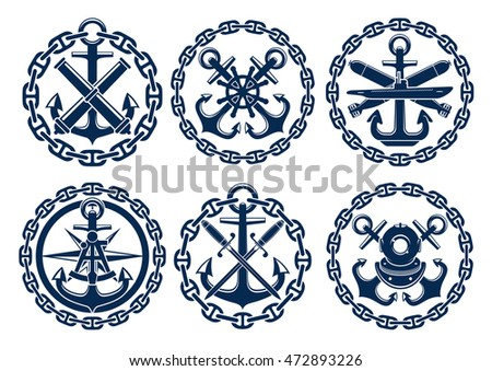 marine and nautical emblems