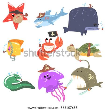 marine animals and underwater