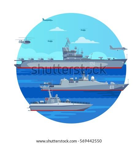 marine battle fleet concept
