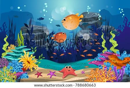 marine habitats and the beauty
