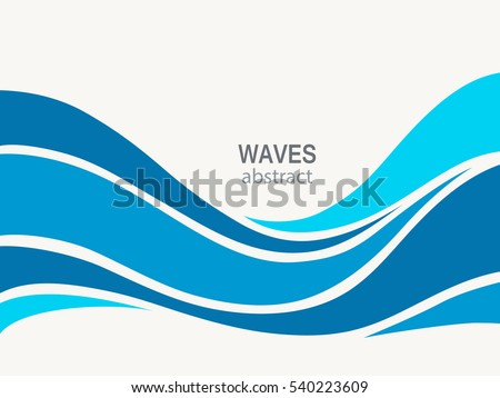 marine pattern with stylized