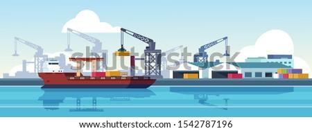 marine port shipping