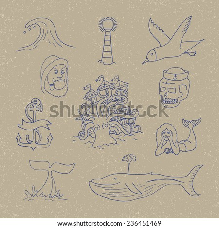 marine themes   tattoo sailor