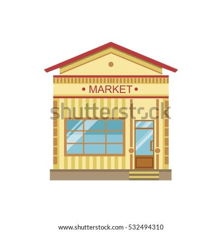 Market Commercial Building Facade Design