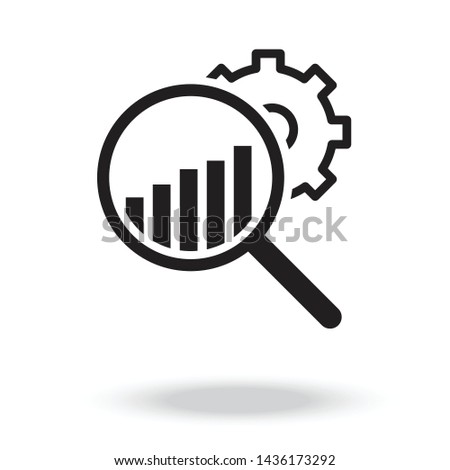 Market Research Icon vector.Analysis Icon.Research Icon