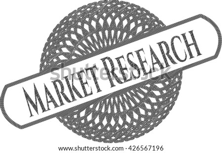 Market Research pencil emblem
