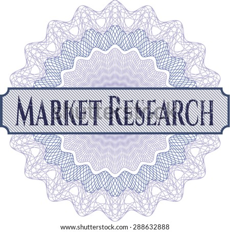 Market Research rosette