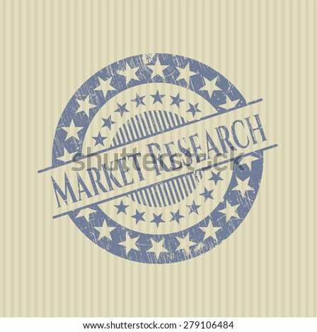 Market research rubber stamp