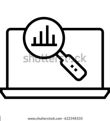 Market Research Vector Icon