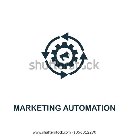 Marketing Automation icon. Creative element design from content icons collection. Pixel perfect Marketing Automation icon for web design, apps, software, print usage
