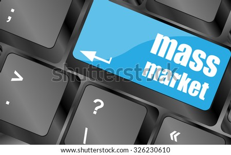 marketing concept  computer